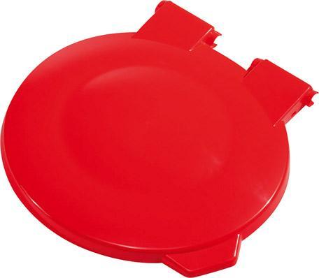 Deckel rot für Sammler 630x560x1080mm
