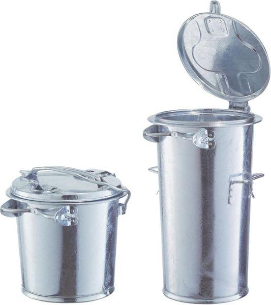 Mülleimer ohne Bügel 110 l verzinkt