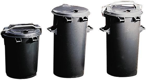 Mülleimer Kst. 110 Liter, ohne Bügel