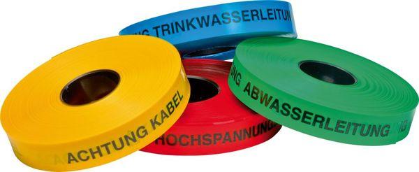 Trassen-Warnband 250 mtr Achtung-Kabel