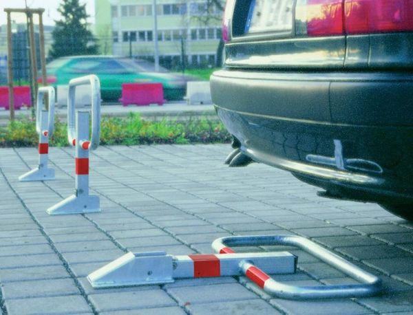 Parkbügel z.Einbetonierenfeuerverzinkt STRECKE