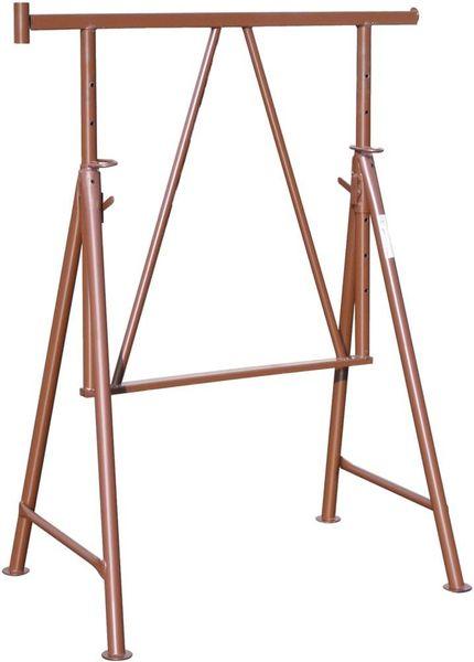 Stahlr.-Gerüstbock lack. B 1200mm, H 1,20 - 1,95 m