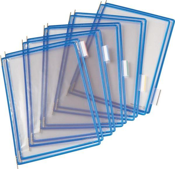 Sichttafel A4 blau Pckg. a 10 Stück