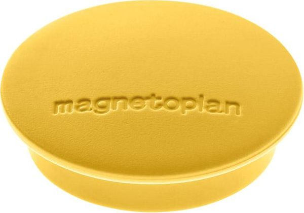 Magnet D34mm VE10 Haftkraft 1300 g gelb