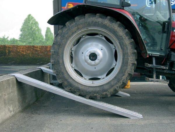 Auffahrschiene o.Rand AluL 2500 mm, 4000 kg STRECKE