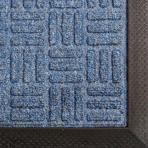 Gummi Eingangsmatte 8mm Turtle 1500x900mm blau