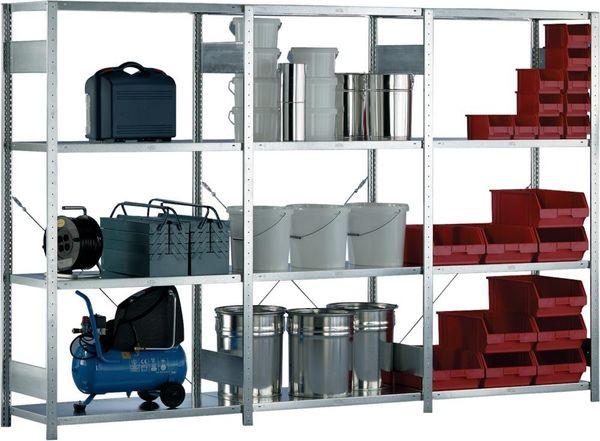 Zusatzböden 1000x600mm f. CLIP-Set,vzk. (VE2)