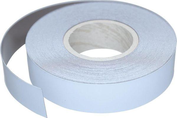 Magnetband weiß beschichtet 30 m x 30 mm