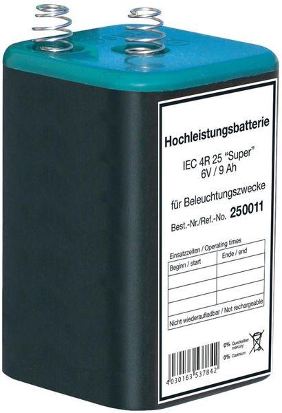 Blockbatterie 6V/9Ah