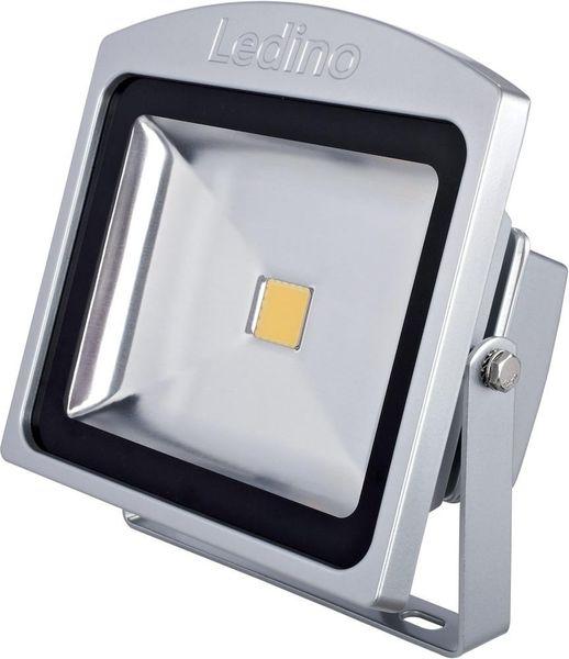 LED Flutlichtstrahler 30W, 6500K, silber