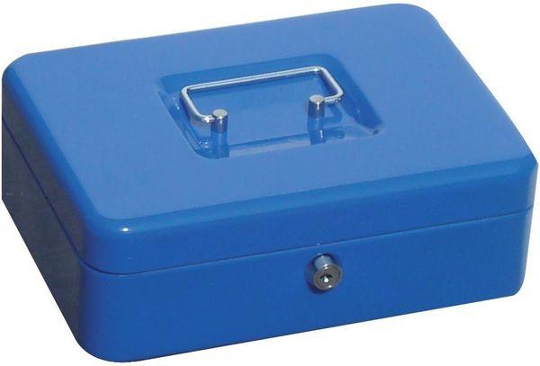 Geldkassette,blau, 330x235x90