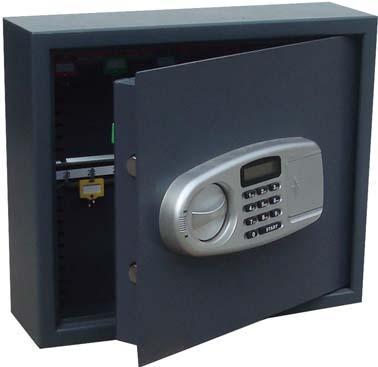 Schlüsseltresor 30 H aken 340x400x120