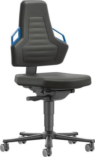 Stuhl Nexxit 2 Rollen Polster Griff blau