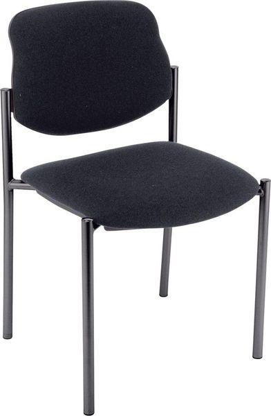 Bes.-Stuhl STYL schwarz/schwarz