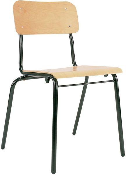 Bes.-stuhl IRYS Holz schwarz/Buche