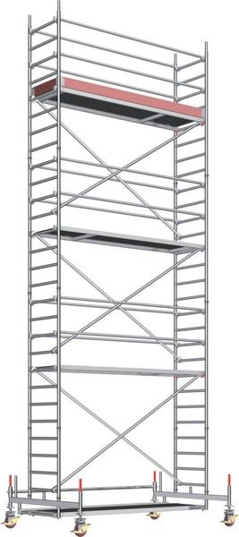 Uni-Standard-Gerüst P2 Arbeitshöhe 10,6m Layher STRECKE
