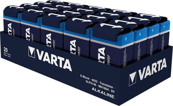 Batterie High Energy E 550mAh, 1 Stk. VARTA