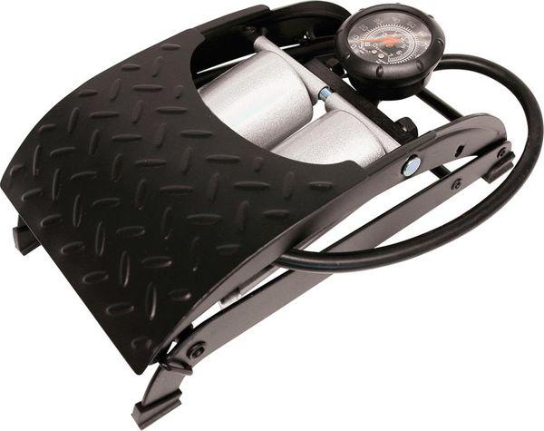 Fußluftpumpe Premium Doppelzylinder Schl. 60cm