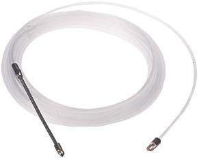 Nylon - Einziehband 25 m,m. Suchfeder u. Öse