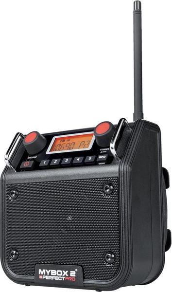 Baustellenradio MyBox 2 MB-BLACK, Bluetooth