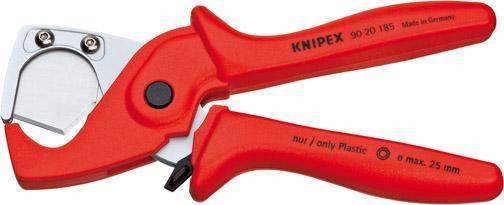 Schlauch-/Schutzrohrschn.185mm PLASTICUT Knipex
