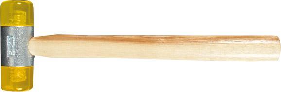 Kunststoffhammer gelb 50mm Gr.6 FORTIS