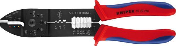 Crimpzange f.isol. Kbs. 0,75-6qmm Knipex