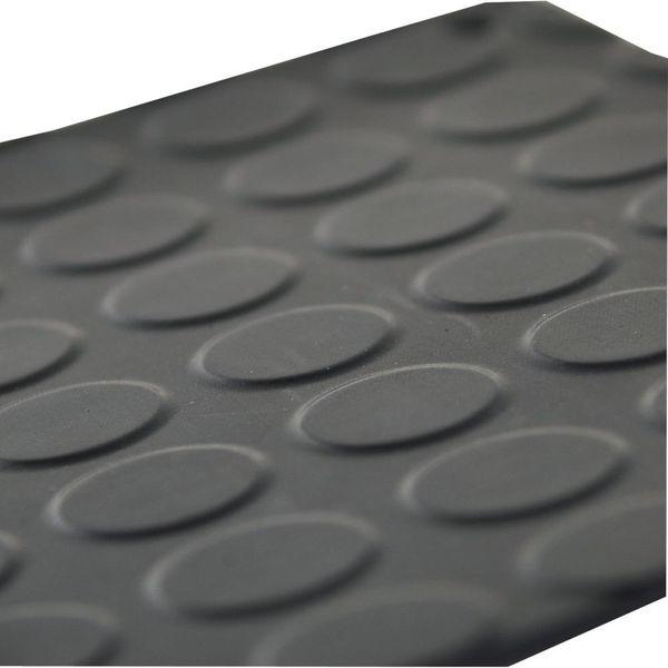 Gummi Noppenbelag schw. 3 mm, 1x10m IN3023