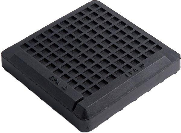 LEVEL-MOUNT Isolierplatt.1500Kg, EPA10 100x100mm