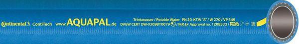 """Trinkwasserschl. AQUAPAL 32x5,5mm, 1.1/4"""", 40m"""