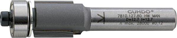 HW-Bündigfräser Z2 S8 D12,7 l25 Guhdo