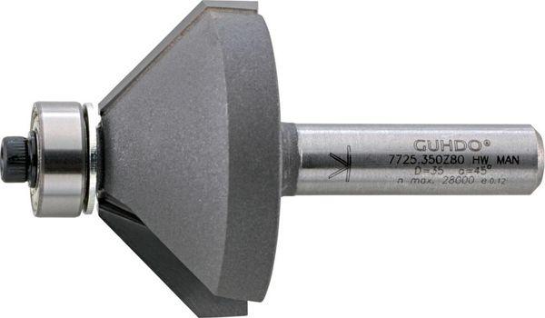 HW-Fasefräser D35 l18 45 Grad Z2 S8 Guhdo