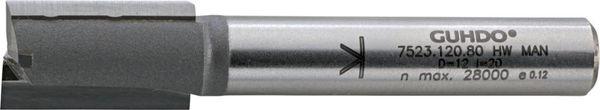 HW-Nutfräser D16 l30 L90 S8 Guhdo