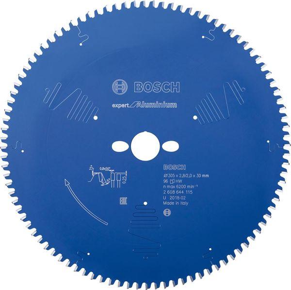 HW Kreissägebl.Expert Alu305x2,8x30mm Z96 TF-Bosch