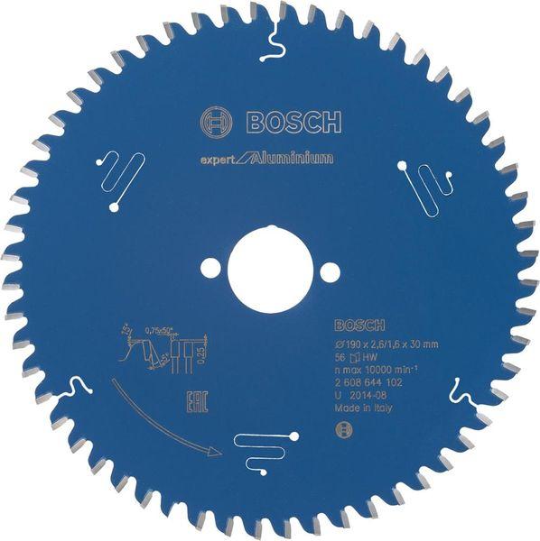 HW Kreissägebl.Expert Alu190x2,6x30mm Z56 TF-Bosch