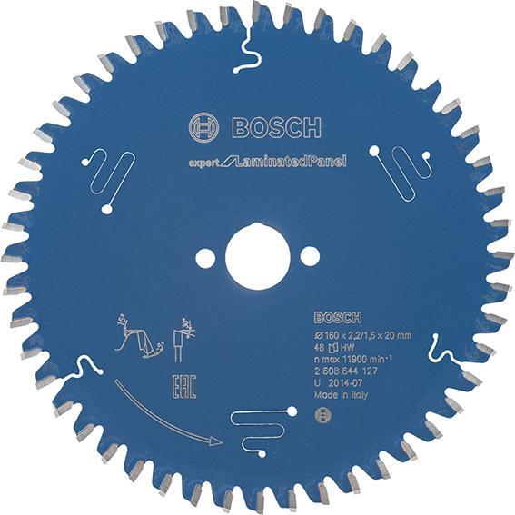 HW Kreissägebl.Expert LP 160x2,2x20mm Z48 W- Bosch