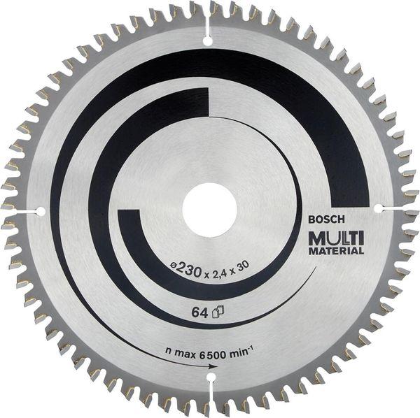 HW Kreissägebl.Expert MM 230x2,4x30mm Z64 TF-Bosch