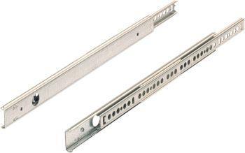 Kugelauszug für 17mm Nut Schubkastenl. 185-305 mm