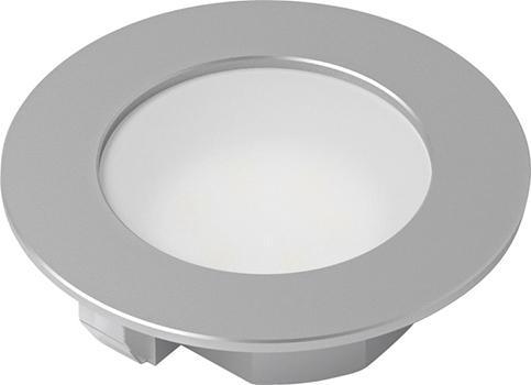 LED Eco Spot ALU Op. ww 10er Set,12V, 1.5W, 1.8m