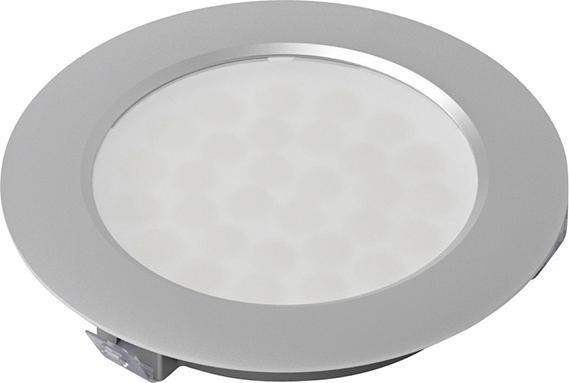 LED EcoPower L Edelstahl Opt.,ww, 12V, 3.2W, 1,8m