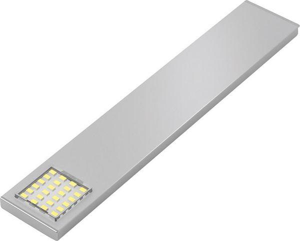 LED PowerSquare 180mm ww Alu, 12VDC, 1.8W, 1.8m