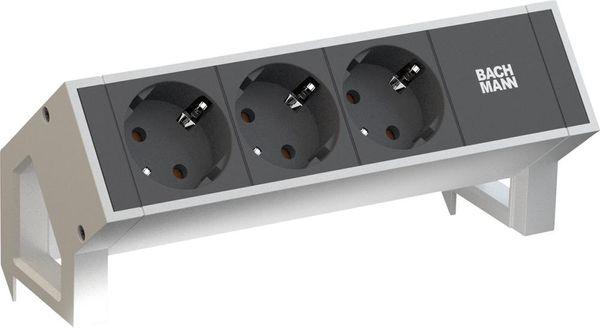 DESK2 3xCEE7/3 Strom 0,2m GST18 RAL9010