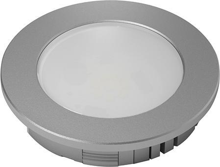 HV DownLite-Abdeckring Aluminium Optik, D 78 mm