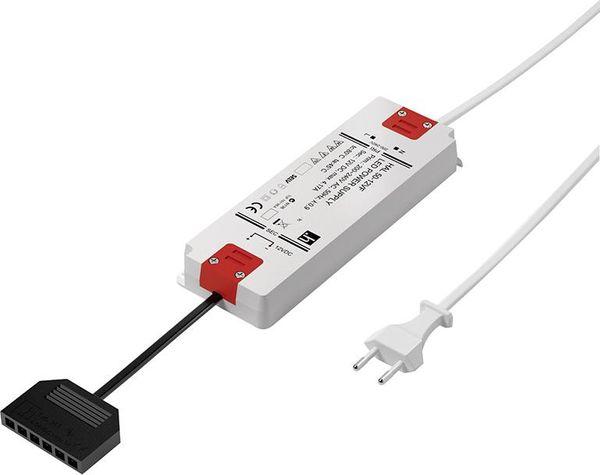 LED EVG 12VDC, 0-50W 200-240V, 50/60Hz, 2m EFS