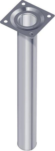Stahlrohrmöbelfüsse weiss 200mm rd.30mm