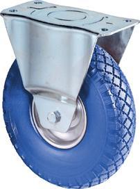Bockrolle 260mm L410.C91.262 pannensicher blau