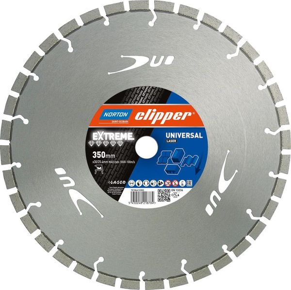 Clipper Diam-Trenn.ExtremUniversal Laser 350x30/25