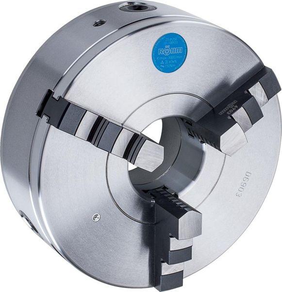 Dreib.-Drehf. D6350 Stahl125mm Röhm