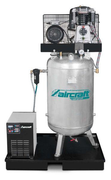 Stationärer Kolbenkompressor mit Kältetrockner AIRPROFI 703/270/10 VK