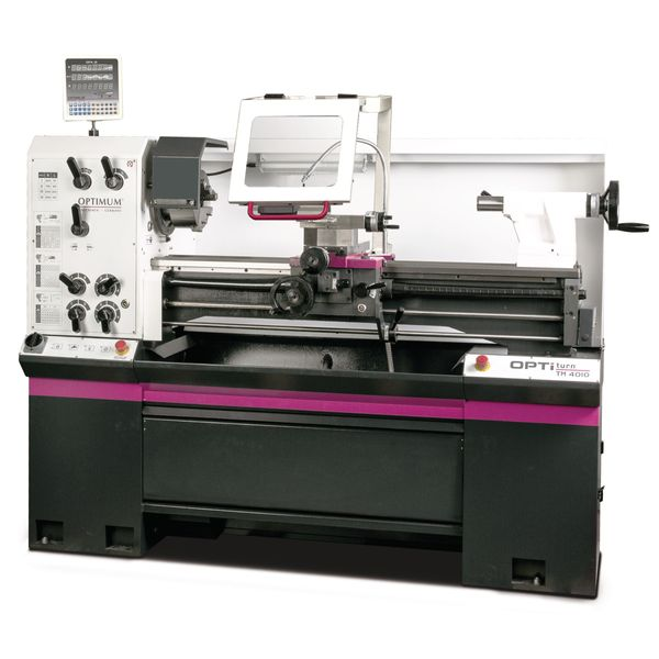 Leit- und Zugspindeldrehmaschine OPTIturn TM 4010D